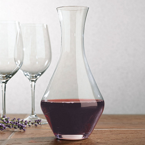 Riedel merlot wine decanter wine enthusiast for Wine carafes and decanters