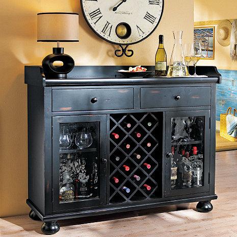 Howard Miller Cabernet Hills Wine Console