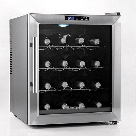 Wine Enthusiast Silent 16 Bottle Wine Refrigerator (Stainless Steel Trim)