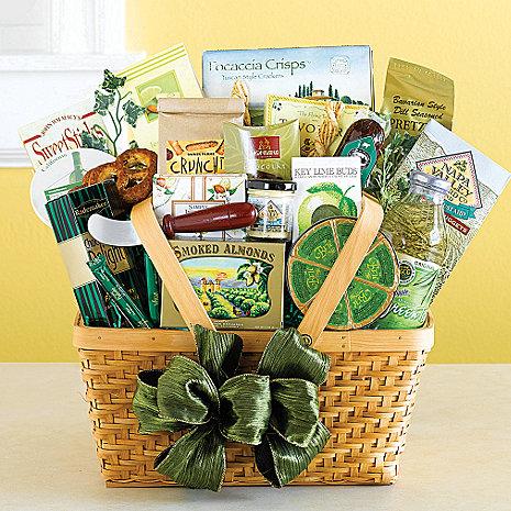 Gourmet Getaway Gift Basket Wine Enthusiast