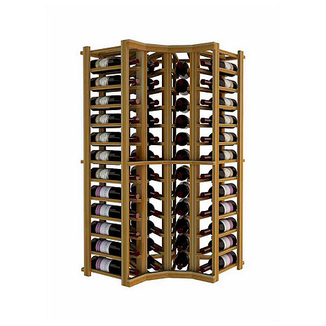 Napa Vintner Stackable Wine Rack - Curved Corner