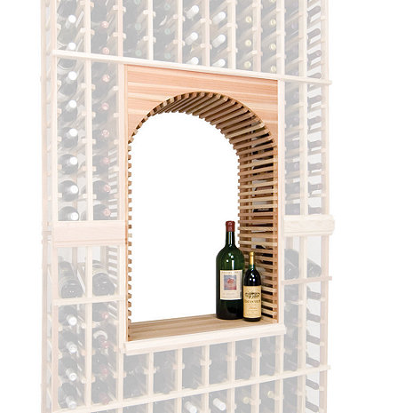 napa vintner stackable wine rack archway table top. Black Bedroom Furniture Sets. Home Design Ideas