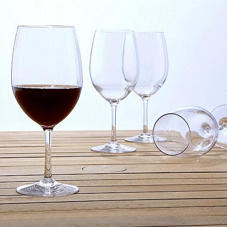 Indoor/Outdoor Cabernet/Merlot Wine Glasses (Set of 4)