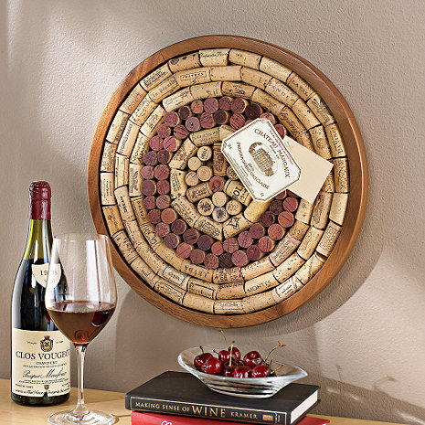 Round Wine Cork Board Kit