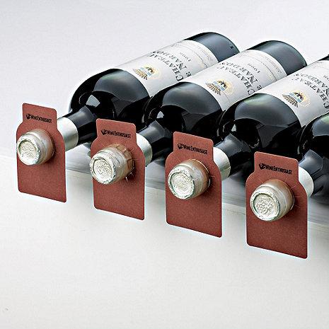Wood Tone Bottle Tags (Set of 100)