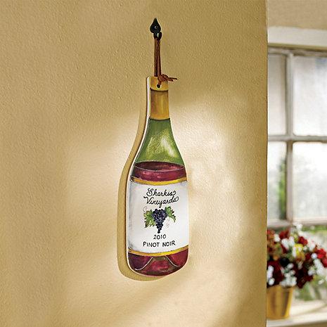 Personalized Wine Bottle Trivet (Pinot Noir)