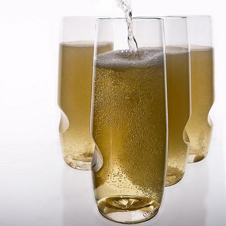 Go Vino Stemless Champagne Flute Wine Enthusiast