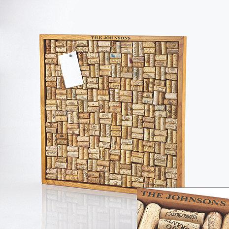 Personalized Large Wine Cork Board Kit