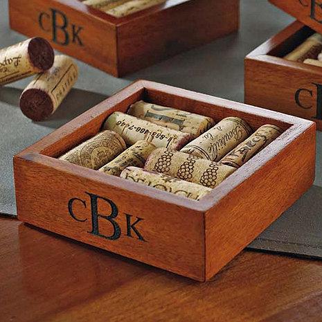 Personalized Wine Cork Coasters Kit