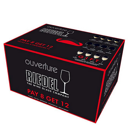 Riedel Ouverture Pay 8 Get 12