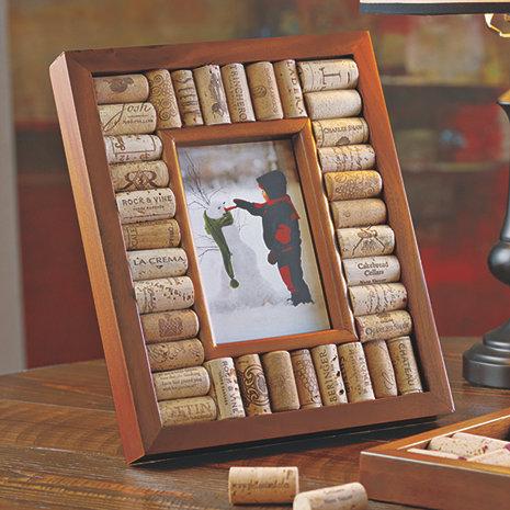 Wine Cork Picture Frame Kit (5x7 photo)