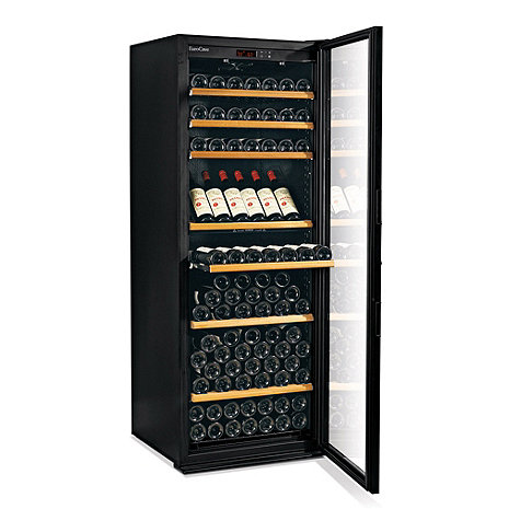 EuroCave Performance 283 Wine Cellar (Black - Glass Door) (Outlet  A)