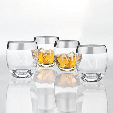 Personalized Madison Avenue Whiskey Glasses (Set of 4)