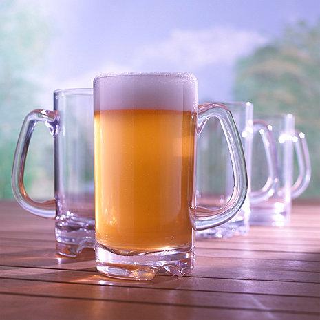Indoor/Outdoor Beer Mug (Set of 4)