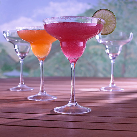 Indoor/Outdoor Margarita Glasses (Set of 4)