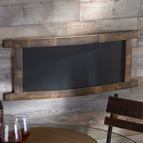 Reclaimed Barrel Stave Chalkboard (Rectangle)