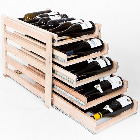 Wine Logic 30 Bottle In-Cabinet Wine Rack