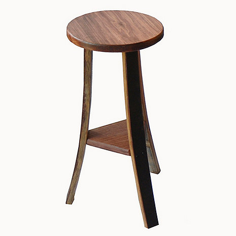 Triple Stave Bar Stools (Set of 2)