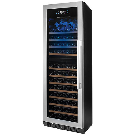 N'FINITY PRO HDX 187 Dual Zone Wine Cellar Left Hinge (Stainless Steel Door)