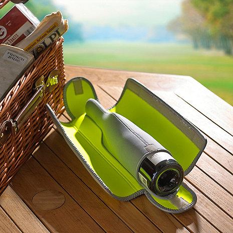 BottleGuard Neoprene Wine Bottle Protector & Carrier (Neon)