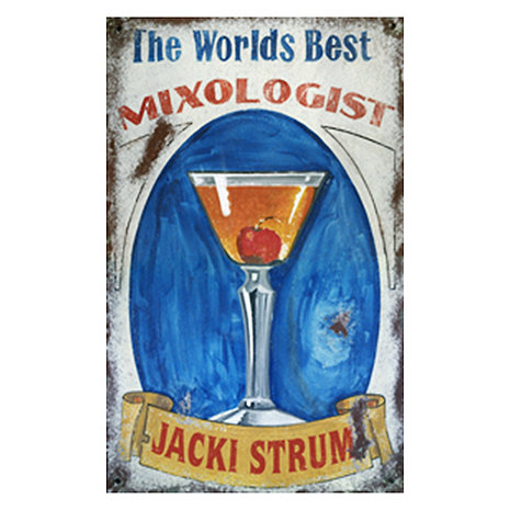 Personalized Mixologist Sign