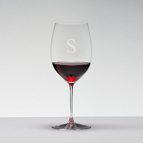 Personalized Riedel Veritas Cabernet Wine Glasses (Set of 2)
