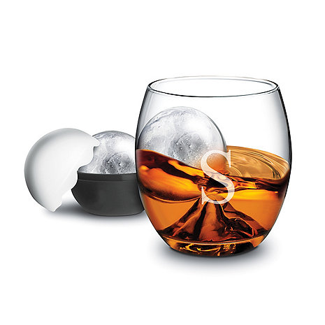 Personalized On the Rock Glass and Ice Ball