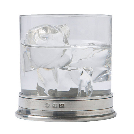 Match Pewter Double Old Fashioned Glasses (Set of 2)