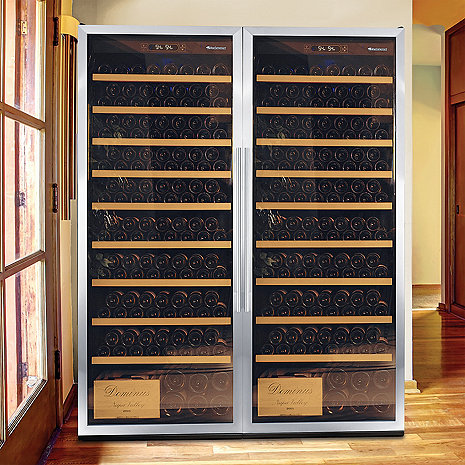 Wine Enthusiast Classic XL 600 Wine Cellar (Stainless Steel)