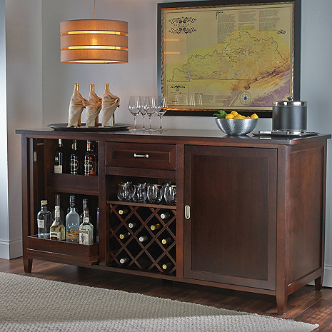 Firenze Wine And Spirits Credenza Wine Enthusiast