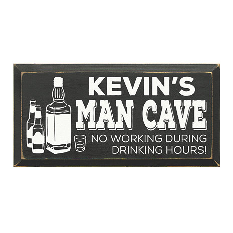 Personalized Whiskey Man Cave Sign