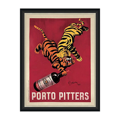Porto Pitters Vintage Advertising Print Reproduction (35 X 27)