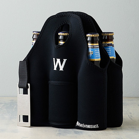 Personalized Neoprene 6 Bottle Beer Carrier