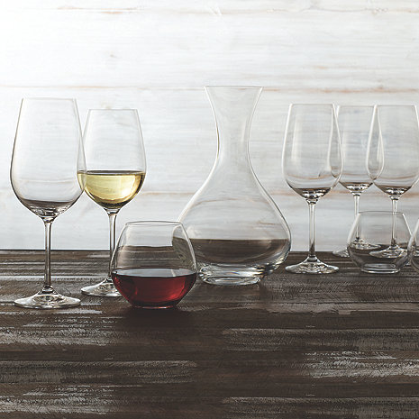 Fusion Table Glassware Complete Collection (19 Piece Set)