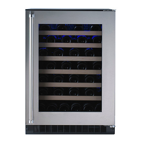 American Designer Series 54-Bottle Wine Refrigerator (Stainless Steel Door - Right Hinge) (Outlet A)