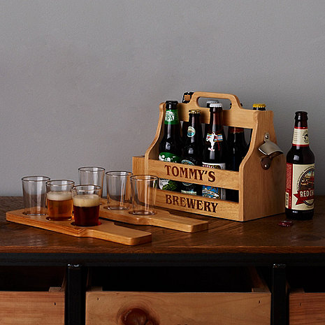 Personalized craft beer gift set wine enthusiast for Craft beer gift set