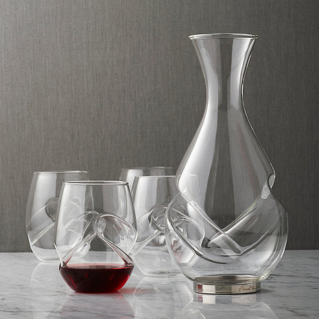 Aerating Decanter and Wine Glass Set