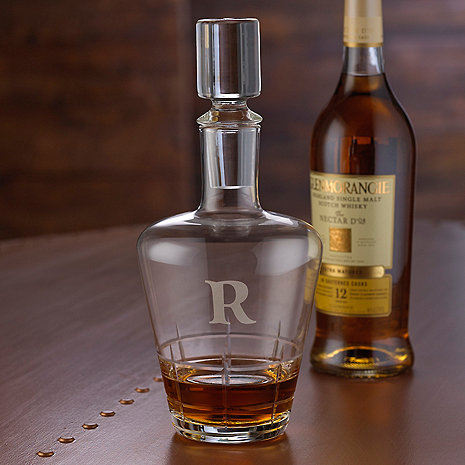 Personalized Highlands Whiskey Decanter