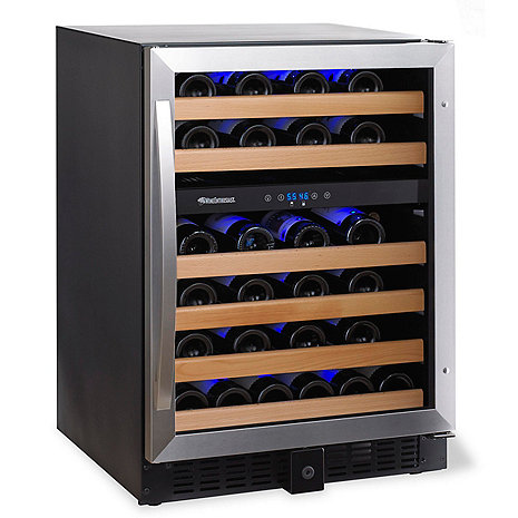 Wine Enthusiast Classic 46 Dual Zone Wine Cellar (Stainless Steel Trim) (Outlet A)