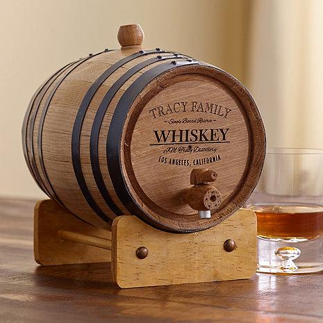 Personalized Handcrafted American Oak Barrel