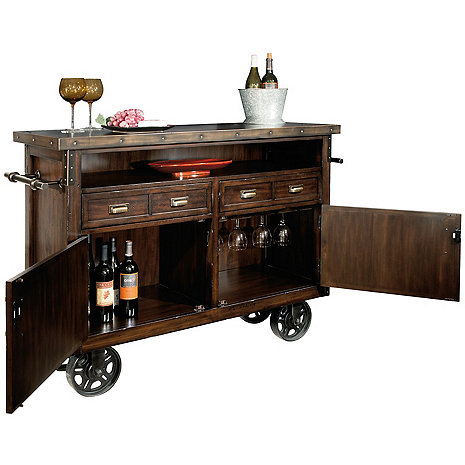 Howard Miller Barrow Wine and Bar Cabinet