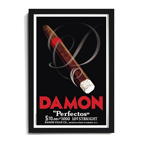 Personalized 'Cigar' Framed Print
