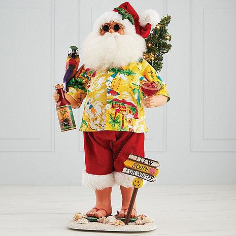 Karen Didion 'Flew South For Winter' Santa
