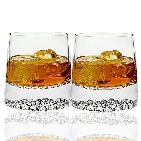 Diamond Whiskey Glasses (Set of 2)