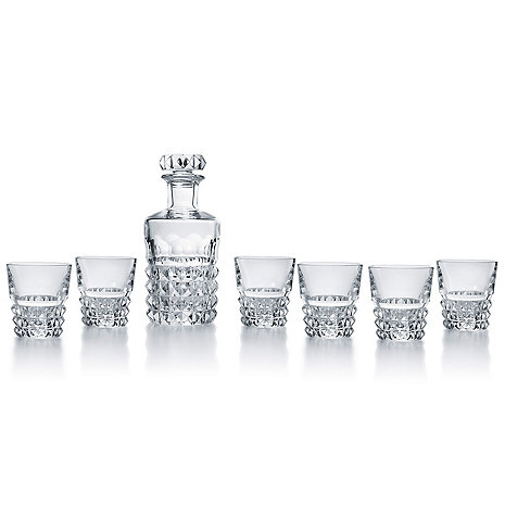 Baccarat Louxor Decanter and Glasses (set of 6)