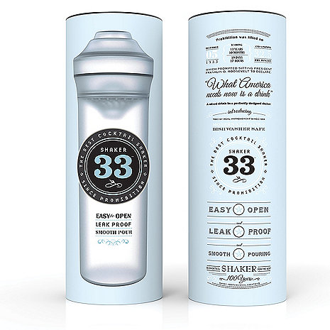 Shaker33: The Best Cocktail Shaker Since Prohibition