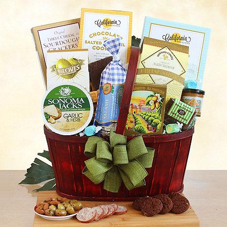 Snack Celebration Gift Basket