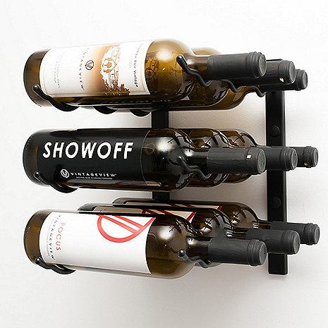 VintageView Wall Series 1 Foot Wine Rack (9 Bottle)