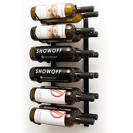 VintageView Wall Series 2 Foot Wine Rack (12 Bottle)