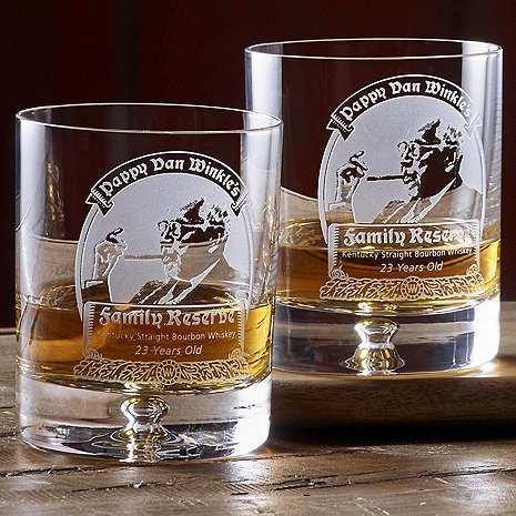 Pappy Van Winkle's Family Reserve 23 Year Whiskey Glasses Set